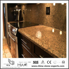 Engineered Natural Baltic Brown Granite Vanity tops for Bathroom,Hotel (YQW-GC06051908)