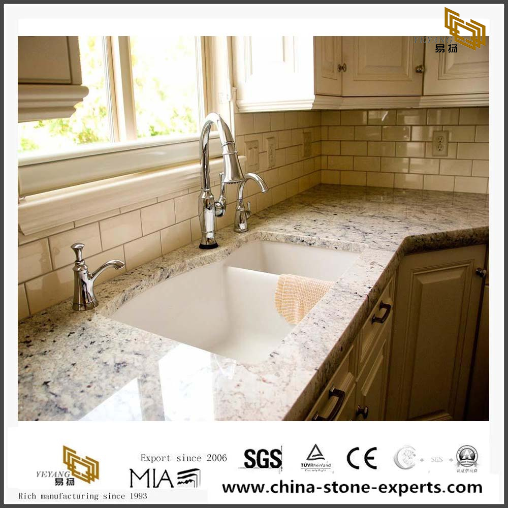 White Granite Bianco Romano Granite For Countertop Benchtop