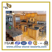 Natural Green Granite/Marble Stone Vanitty top Countertop for Kitchen, Bathroon(YQC-GC1021)