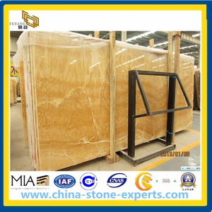 Honey Onyx Marble for Slab, Tile, Mosaics, Sink, Tops (YYAZ)