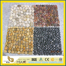 Natural River Pebble Stone, Cobble Stone for Garden, Landscape (YYCV)
