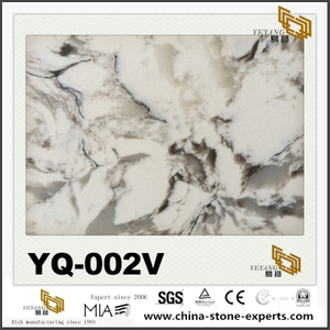 Color Quartz Slabs For Kitchen and Bathroom YQ-002V Series