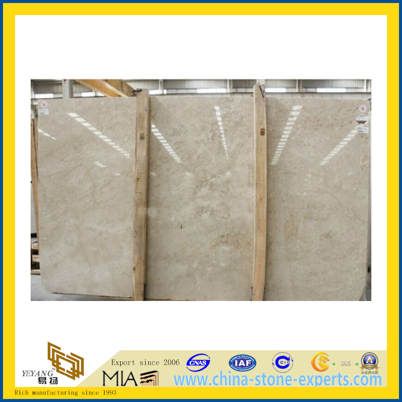 Imperial Beige Marble Slab for Flooring Decoration