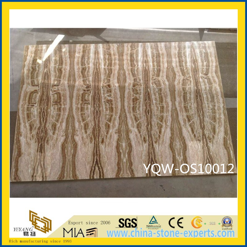 Polished Colorful Onyx Stone Slab for Wall with Cheap Price