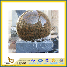 Cheap Price Granite Stone Garden Ball Water Fountain for Outdoor(YQC)