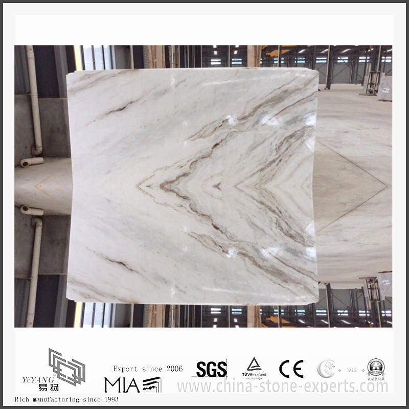 Arabescato Venato | Arabescato Venato White Marble for Kitchen Countertops (YQW-MSA2103)