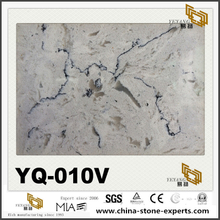 Granite Vein Quart Surface Countertop YQ-010V Luxury Quartz Slabs