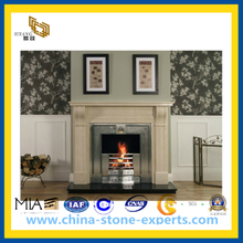 Granite Carved Stone Fireplace for Indoor Decoration