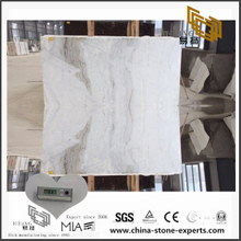 Natural Arabescato Venato White Marble Slab for Flooring with Cheap Price (YQW-MSA070607)