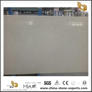 Quartz Kitchen Countertop YQ-090D White Quartz Slabs