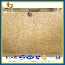 G682 China Rust Stone Sunset Gold Granite Slab for Floor Tile (YQZ-GS1009)