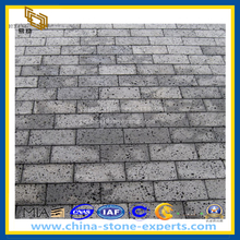 Honed Gray Basalt Outdoor Paving Stone / Pavers (YQZ-PS1004)