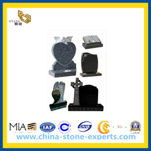 Wholesale Price Carving Granite Stone Headstone for Graves (YQZ-MN)