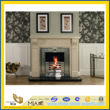 Carved Stone Fireplace for Indoor Decoration (YQA-F1003)
