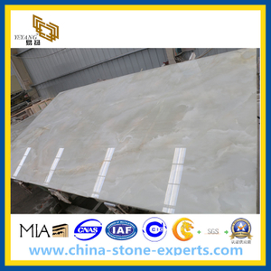 Natural White Honey Stone Onyx for Tile, Slab (YYL)