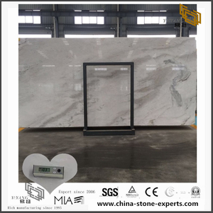 China White Arabescato Venato Marble for Kitchen Countertop (YQW-MSA0706017)