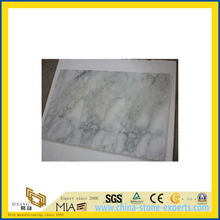 Natural Polished Arabescato White Marble Tile for Wall/Flooring (YQC)