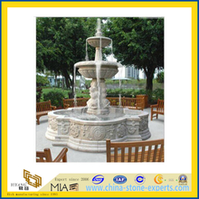 Water Fountain with White Marble Stone(YQG-LS1005)