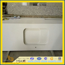 white /beige /carrera the artificial stone for slab ,vanity top (YQT)