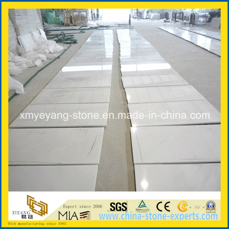 White Jade Marble Tile for Hotel Wall or Flooring