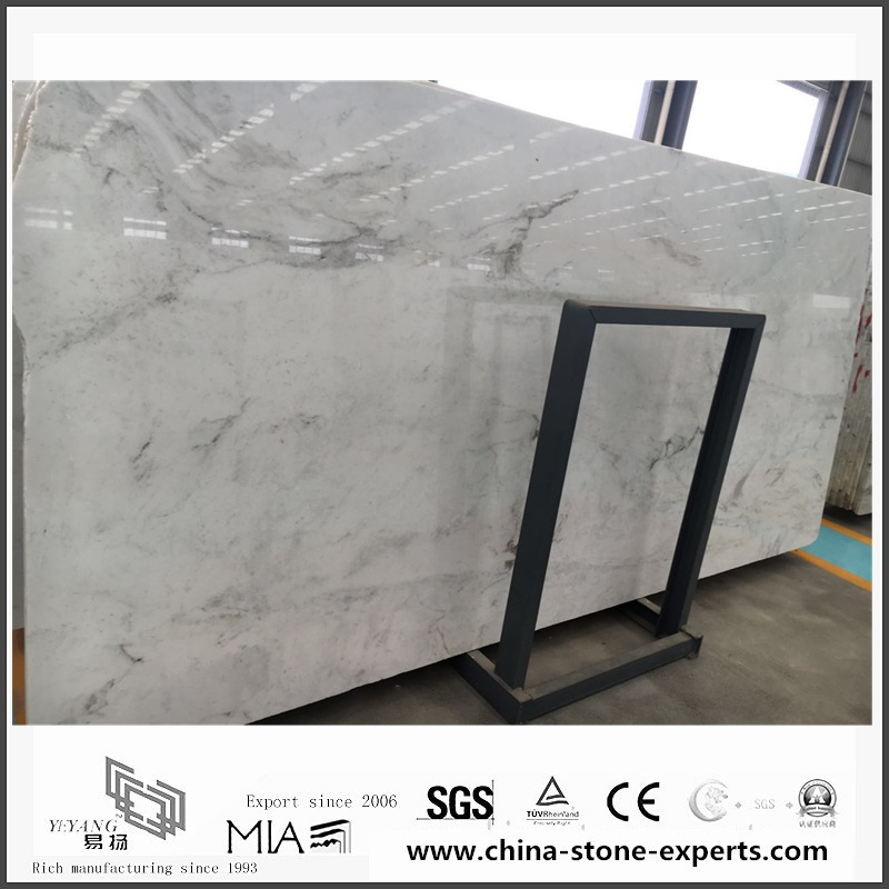 Beautiful New Polished Arabescato Venato White Marble for Floor Tiles (YQW-MSA0621014)