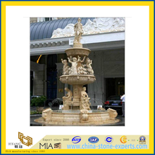 Carved Marble Stone Water Garden Fountain for Outdoor(YQG-LS1044)