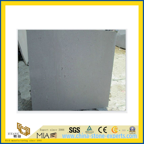Natural Polished Cinderella Grey Marble Tile for Wall/Flooring (YQC)