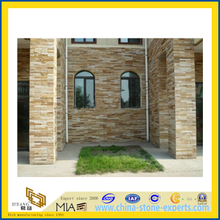 Yellow Stone Slate Culture Stone for Wall Tile (YQA-S1048)