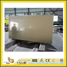 Bali Yellow Quartz Stone Slab for Indoor Decoration
