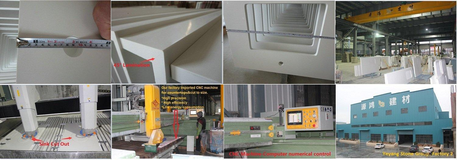 Professional Prefabricated Granite & Quartz Countertop Factory and Exporter