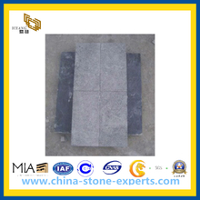 Flamed/Bush Hammered China Blue Limestone for Paving (YQW-CB001)