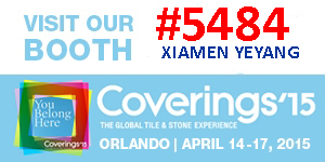 Yeyang Stone News:Invite to our stand NO. #5484 at Coverings fair in Orlando,FL