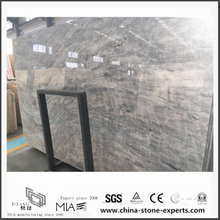 Low Price Polished Vermont Grey Marble for Wall Backgrounds & Floor Tiles (YQW-MS0621005)