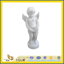 Marble Modern Art Stone Carving Sculpture for Outdoor Garden(YQC)