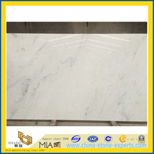 Polished Castro White Marble Slabs for Wall & Flooring(YQC)