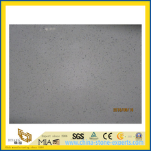 Crystal White Polished Artificial Quartz Stone for Kitchen/Bathroom/School Wall