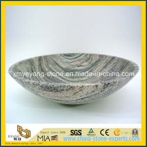 China Juparana Granite Countertop Basin for Bathroom or Toilet