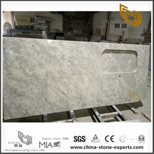 Wholesale Andromeda White Granite Countertops for Kitchen Design (YQW-GC071408)
