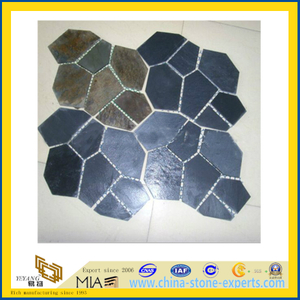 Natural Landscape Slate Flagstone for Paving (YQA-S1034)