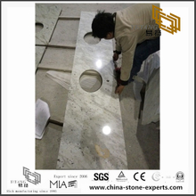 Popular Andromeda White Granite Counter tops for Bath Decor (YQW-GC0714017)