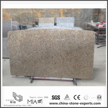 Quality Bianco Taupe Yellow Granite Countertops for Kitchen (YQW-GC0524011)
