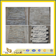 Black/Yellow/White/Rusty Slate Tile, Natural Culture Stone (YQA-S1006)