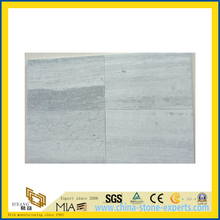 Natural Polished Blue Wood Marble Tile for Wall/Flooring (YQC)