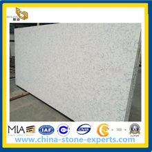 Artificial Quartz Stone Slab for Kitchen Countertop, Vanity Top (YYAZ)