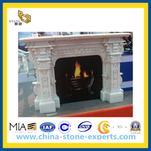 Stone Carved Fireplace for Indoor Decoration(YQG-CS1038)