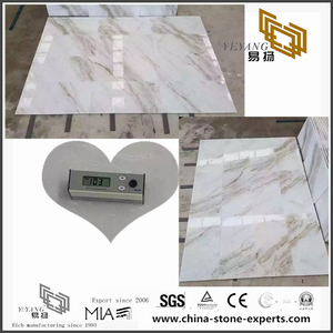 Natural Arabescato Venato White Marble Tile for Flooring Decor (YQW-MSA070606)