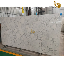 Blue grey quartz stone slabs quartz countertops for bathrooms project - A5016