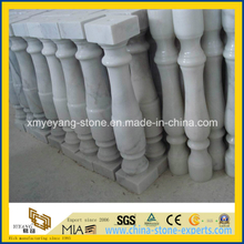 Guangxi White Marble Baluster for Interior or Exterior Decoration