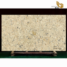 natural gold quartz slabs for bathroom countertops quartz tile flooring(A5046)
