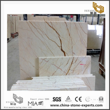 Beautiful Sofitel Gold Marble Tiles for Floor design(YQN-100703)